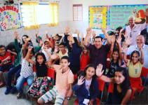 Gestão Hildo do Candango continua trabalhando na melhoria da educação de Águas Lindas de Goiás