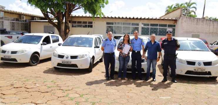 Novo Gama disponibiliza mais quatro viaturas para patrulhamento preventivo