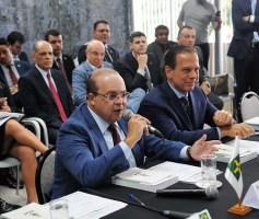 Ibaneis Rocha e outros 26 governadores se reuniram para tratar do pedido de socorro aos Estados junto ao Governo Federal