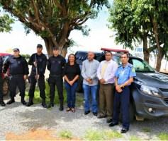 Sônia Chaves acompanha especialização dos Comandos da Guarda Municipal do Entorno Sul