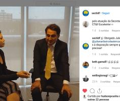 """""""Quero ser um 'secretário hitec'!, diz Gilvan Máximo, Secretário de Ciência, Tecnologia e Inovação do DF, em live no Instagram"""