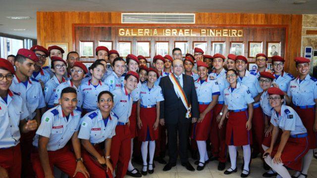 DF: Ibaneis Rocha participa das comemorações do aniversário da PM