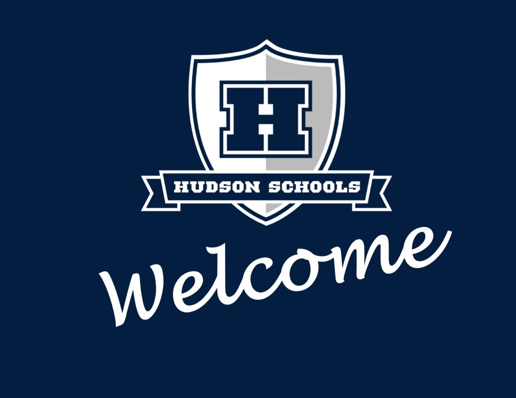 Hudson Schools Welcome Graphic