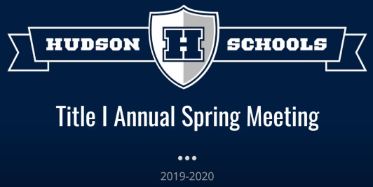 Title 1 Annual Meeting presentation cover