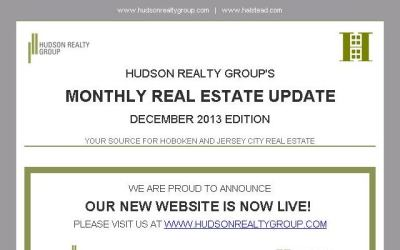 Hudson Realty Group Monthly Update – December 2013 Edition