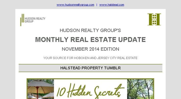 Hudson Realty Group Update – November 2014 Edition     Hoboken and Jersey City Real Estate