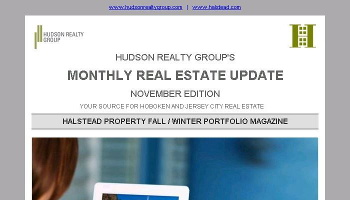 Hudson Realty Group Update – November 2015 Edition  |  Hoboken and Jersey City Real Estate