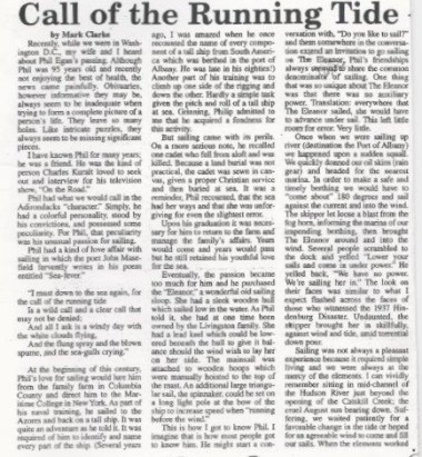 Call of the Running Tide (1)