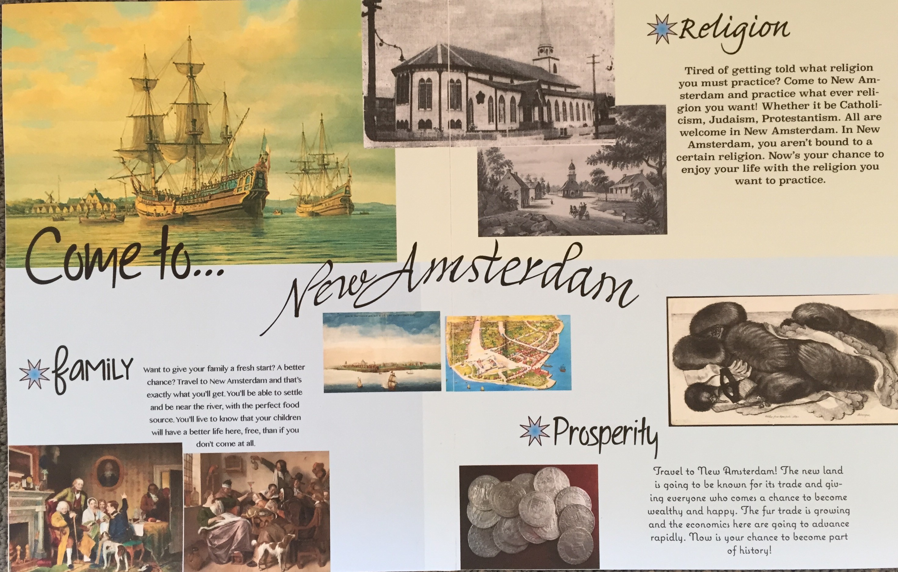 History Of New York Class Designs Recruitment Posters For
