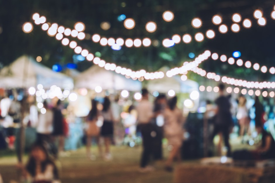 Outdoor party - event insurance protection