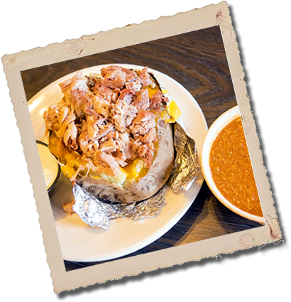 Picture of Pork Baked Potato