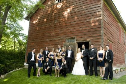 Private barn wedding