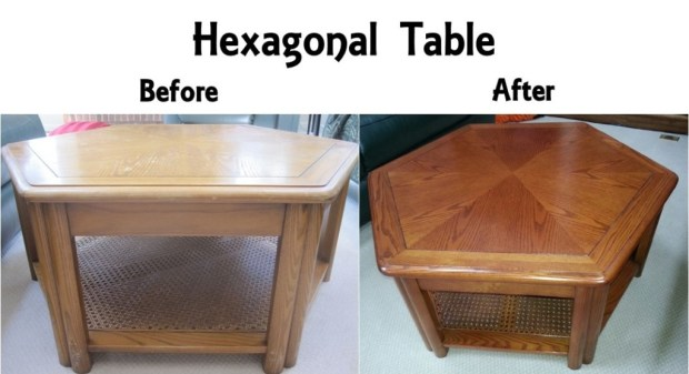 Hexagonal Table B&A