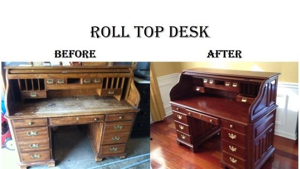 Roll Top Desk B&A