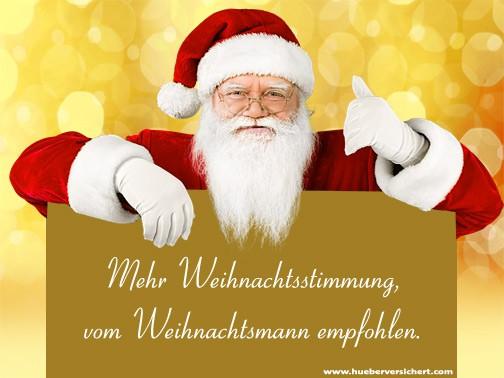 Das empfiehlt der Weihnachtsmann