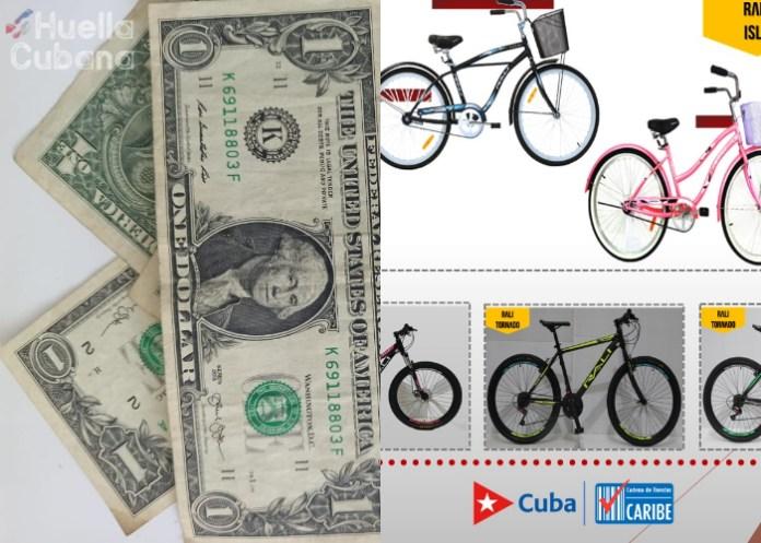 Tiendas en dólares de Cuba comenzarán a vender bicicletas de Panamá