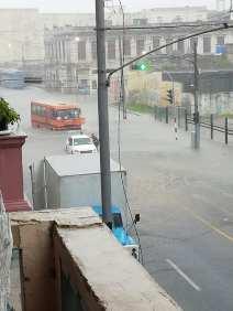 Impactantes imágenes de La Habana bajo agua tras una tormenta local (8)