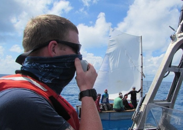 EEUU Guardia Costera intercepta a 13 balseros cubanos