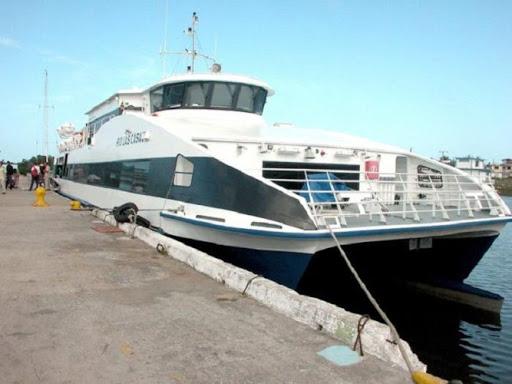 Embarcación destino Batabanó e Isla de la Juventud