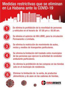 Reapertura en La Habana Fin al toque de queda, pero las multas siguen (3)