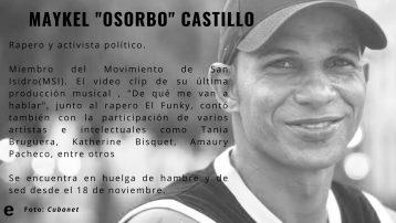 Quiénes son los activistas en huelga de hambre del Movimiento San Isidro (4)