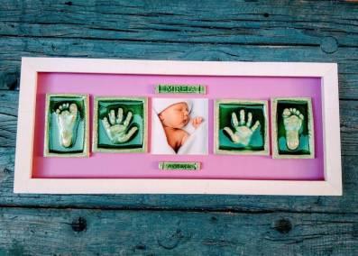 huellas-bebe-arcilla-marco-regalo-original-2