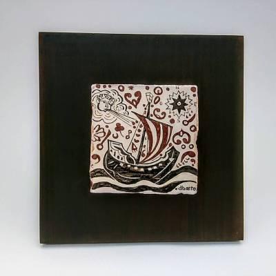 Socarrat artesano barco sol y viento