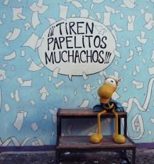 Paseo de las Historietas, Clemente