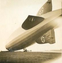 Graf Zeppelin aterrizando en Campo de Mayo