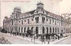 Antigua Fotografía del Palacio tomado al momento de su inauguración.
