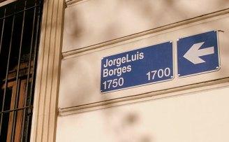 Actual calle Jorge Luis Borges