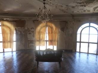 Interior utilizado como set de filmación