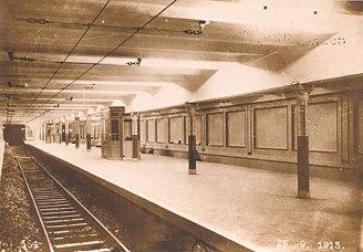 Estación Alberti ayer