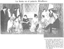 Fiesta en el Palacio Miraflores