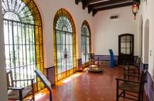 Interior del Museo, con el mobiliario original de la casa