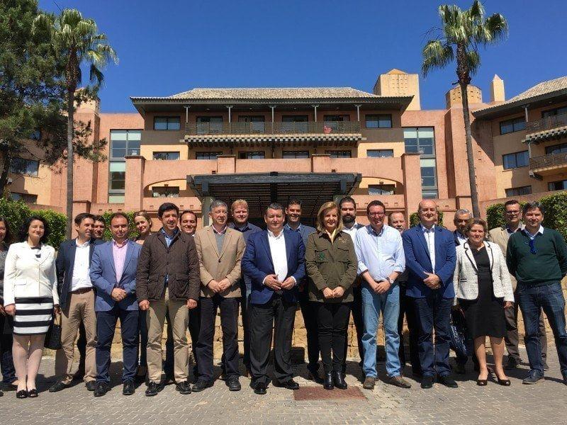 Báñez ha anunciado en Islantilla la inversión que el Gobierno hará para paliar los daños del temporal