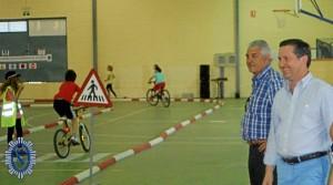 Clausura de la campaña de seguridad vial en Gibraleón.