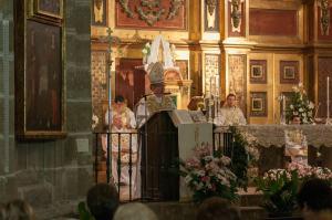 Función Religosa oficiada por el Sr. Obispo de Cuenca