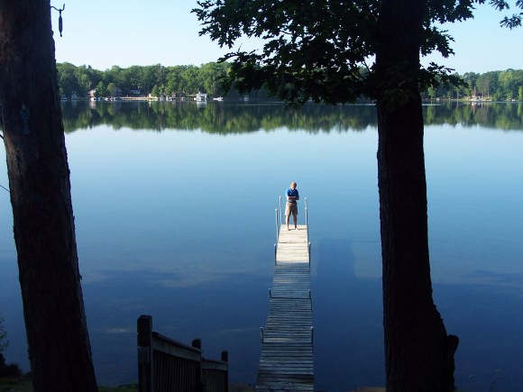 Reflecting on Rifle Lake