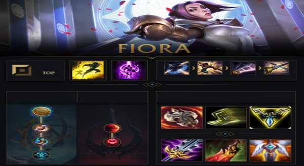 league of legends Build e runas para Fiora