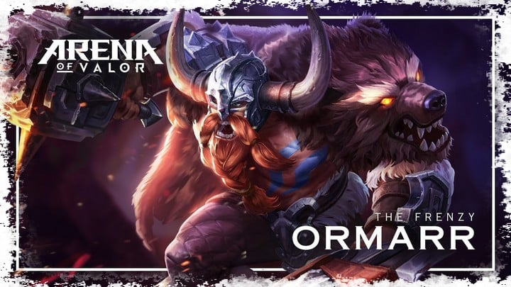 Ormarr arena of valor build