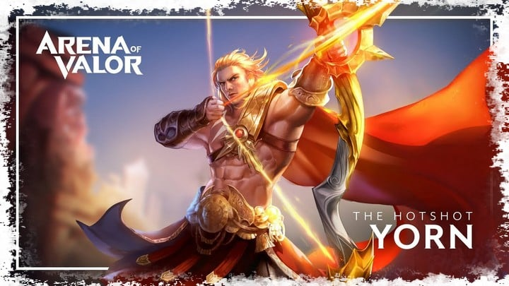 Yorn arena of valor build