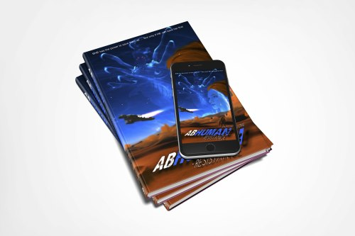 abhuman26x9-hardcover-stacked-with-phone-covervault