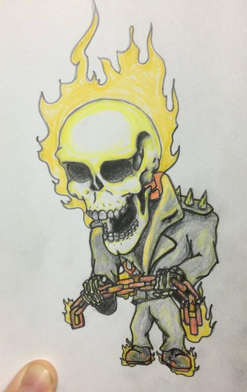 Ghost Rider Chibi