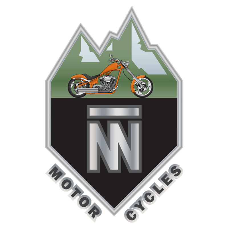 Double N Cycles Full Color Logo