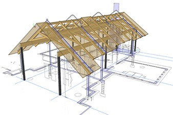 Timber Frame Conceptual Design