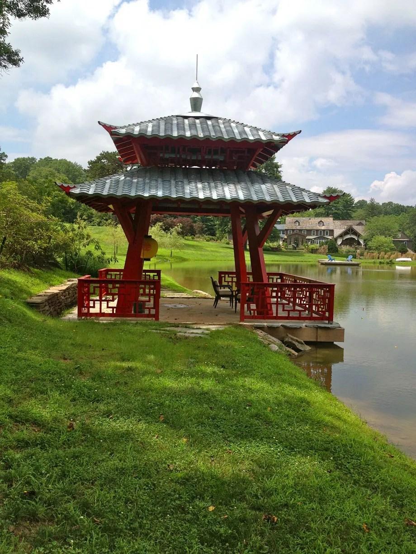 Hugh Lofting Timber Framing Japanese Pagoda