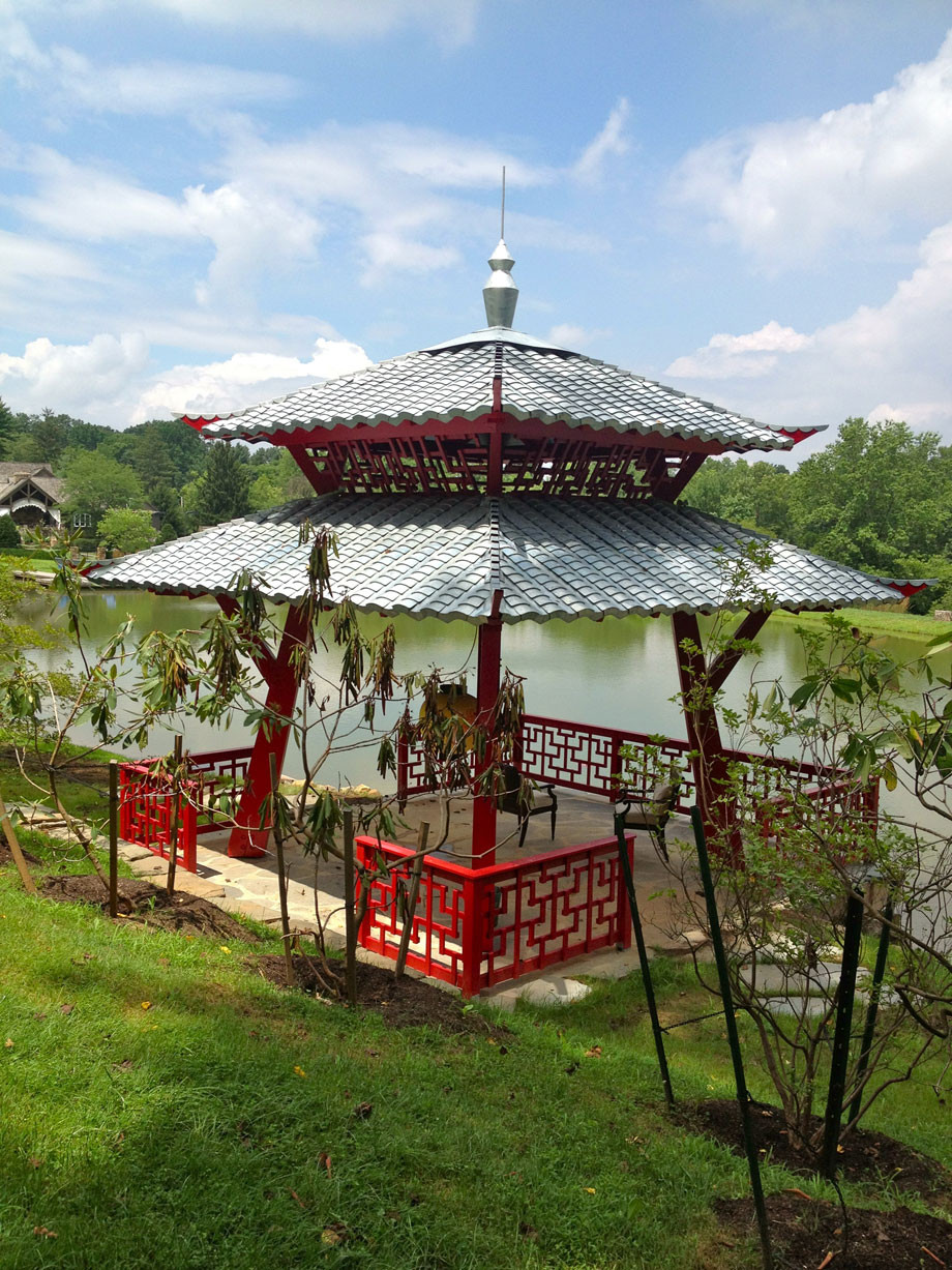 Hugh Lofting Timber Framing Japanese Pagoda