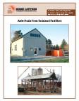 Artist Studio From Reclaimed Feed Barn
