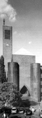Kirche Am Hohenzollernplatz, Außenansicht
